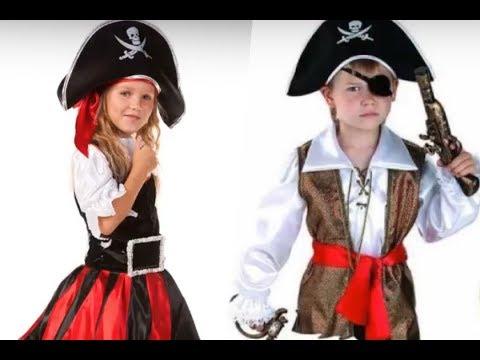 Disfraces para niños con temática pirata