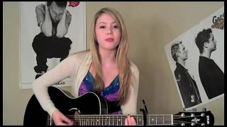 """Taio Cruz """"Break Your Heart"""" cover by Lauran Irion with Lyrics (HD)"""