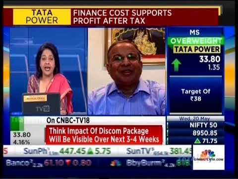 Mr. Praveer Sinha, MD & CEO Tata Power in conversation with CNBC TV 18 about Q4FY2020