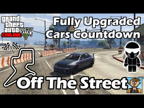 Fastest Cars Off The Street (2016) - Best Fully Upgraded Cars In GTA Online