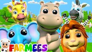 The Animal Dance Song & More Nursery Rhymes & Children Songs | Kids Cartoon | Baby Songs | Farmees