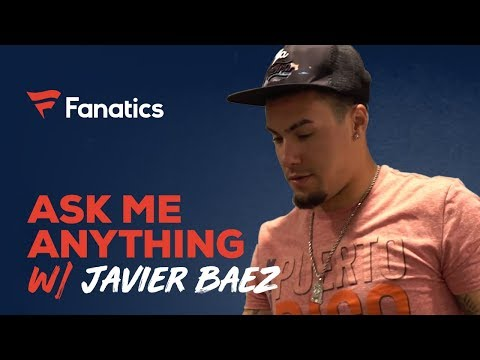 Ask Javier Baez Anything: from meeting Bad Bunny to wanting to pitch in the MLB | #FanaticsAMASeries