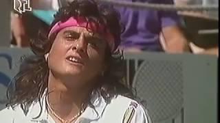 Gabriela Sabatini Vs Steffi Graf Amelia Island 1991