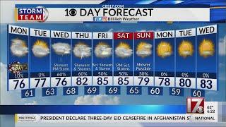 Bill Reh 6 a.m. forecast May 25