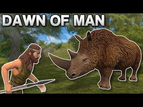 HUNTING DANGEROUS ANIMALS! – Dawn of Man Gameplay – Prehistoric City Building Game