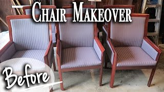 DIY Dining Room Chairs Makeover ~ Relaxing Chair Transformation DIY (Series)