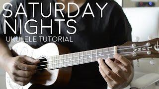 Saturday Nights by Khalid Feat. Kane Brown - Ukulele Tutorial