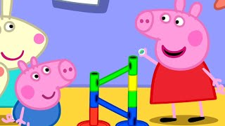 Peppa Pig Official Channel | The Biggest Marble Run Challenge with Peppa Pig