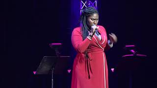 "Danielle Brooks Sings ""I Got Love"" at Annual Voices For The Voiceless Gala"
