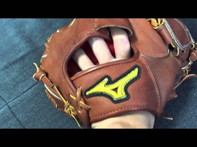 ミズノプロ-投手用-ウェブ交換後野球