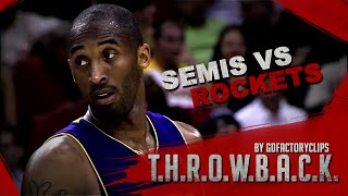 Throwback: Kobe Bryant 2009 Playoffs West Semis Series Highlights vs Houston Rockets (HD 720)