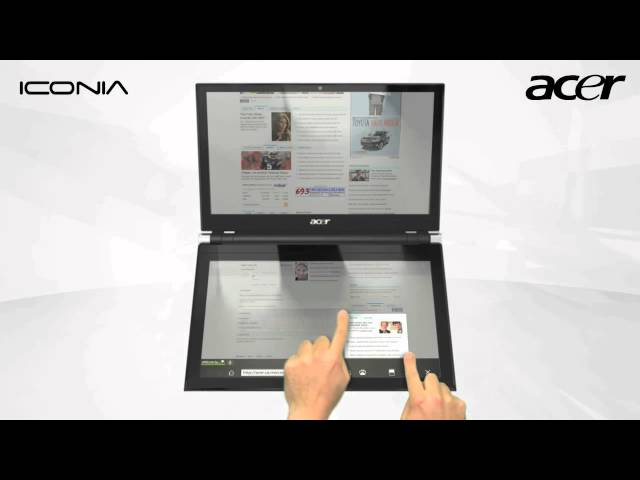 Acer ICONIA Doble Pantalla