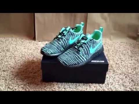 new arrival 78840 a94db nike id roshe run unboxing