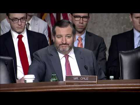 "Sen. Cruz's Q&A at Senate Commerce Committee Hearing: ""The State of the TV & Video Marketplace"""