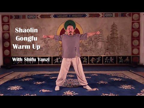 Shaolin Gong Fu online warm up with Shifu Yanzi
