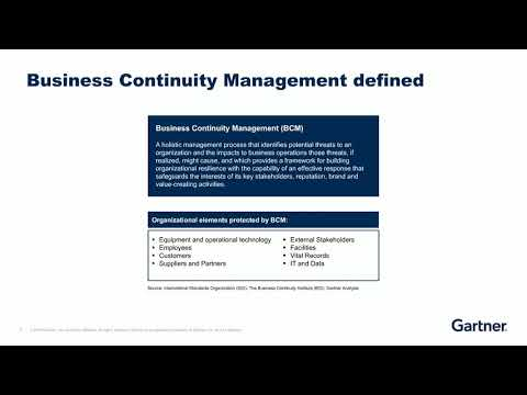 Understanding Business Continuity and Disaster Recovery Ian ...