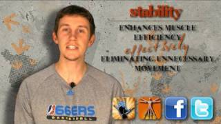 """""""How Can I INCREASE MY VERTICAL?"""" (Part 2 - Stability) -- Chase from ShotScience Basketball"""