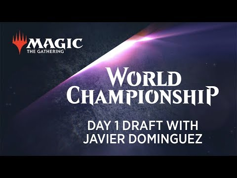 2018 Magic World Championship Day 1 Draft with Javier Dominguez