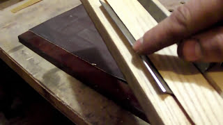 Как в домашних условиях заточить ножи для рубанка или рейсмуса