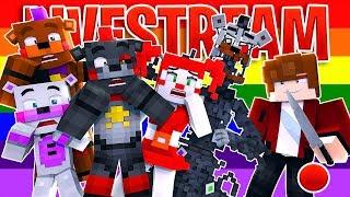 🔴EVIL BRYAN IN FREDDY LAND! Fun.Mineteria.Com (Minecraft Roleplay)
