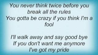 Alanis Morissette - Walk Away Lyrics
