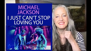 Voice Teacher Reaction to Michael Jackson - I Just Can't Stop Loving You     This Is It