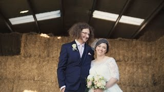 Jamie & Michelle @ Grittenham Barn -  Wedding Video Fusion Film