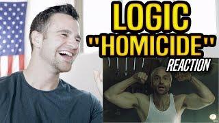 Logic   Homicide Ft. Eminem REACTION!!!