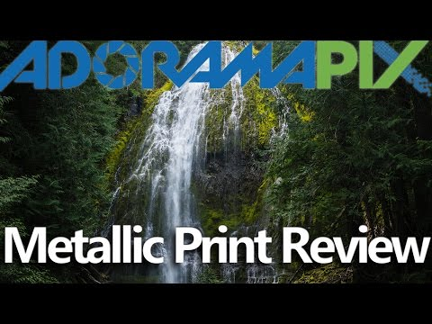 Adorama Pix Metallic Print Unboxing and Review