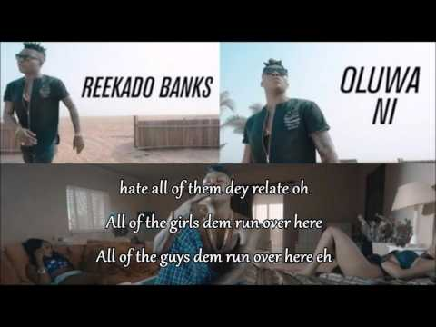 Reekado banks - Oluwa Ni [Official Lyrics Video]