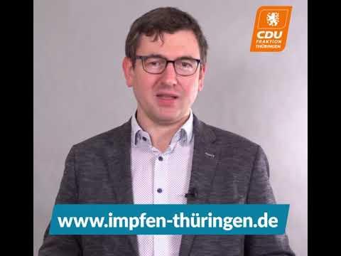 Wie kommt man in Thüringen zu einem Impftermin?