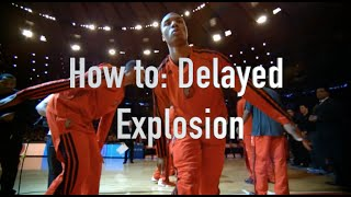 How To: Delayed Explosion Move