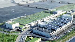 豊洲市場施設竣工映像水産