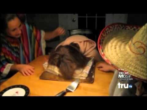 Girl Gets Face Slammed in Birthday Cake