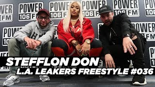 Stefflon Don Freestyle w/ The L.A. Leakers - Freestyle #036