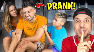 """I got in a ACCIDENT """"PRANK"""" on My Family.. (They Freaked Out) 
