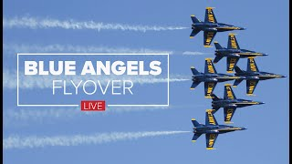 LIVE: Blue Angels Fly Over North Texas In Tribute To Frontline Workers