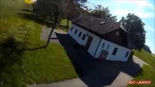 Freestyle vol 1// Mini H Nighthawk // Race Quad // Runcam HD // FPV Fatshark //