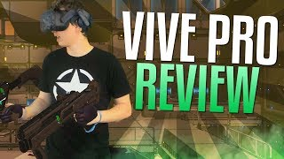 HTC VIVE Pro Review & Unboxing (Mixed Reality VR Gameplay too) - Video Youtube
