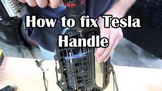 How to fix Tesla Door Handles
