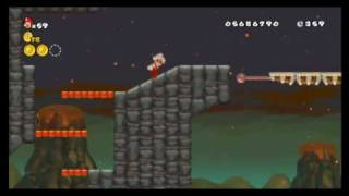 New Super Mario Bros. Wii - Star Coin Location Guide - World 8-7 | WikiGameGuides