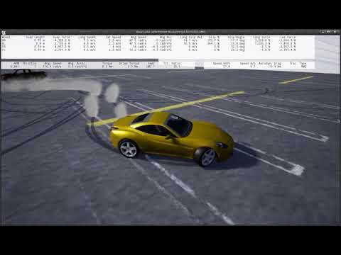 Unreal Engine 4 Custom Physics vehicle testing - смотреть онлайн на