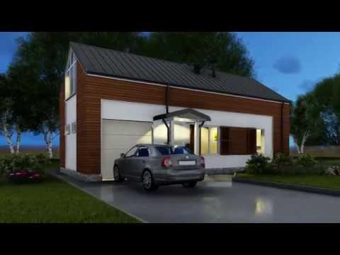Классический Дом 150м2 Каркасная модульная технология