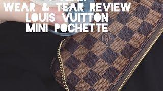 LOUIS VUITTON MINI POCHETTE 1 YEAR WEAR & TEAR