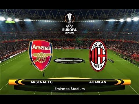 Arsenal vs Milan | UEFA Europa League 2018 | PES 2018 Gameplay HD