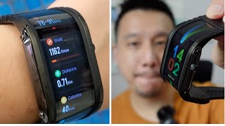 ZTE nubia Watch Unboxing & First Look: Bending Screen Smartwatch!