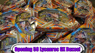 $1,000 worth of Lycanroc GX Boxes! Pokemon TCG opening