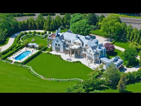 $72 Million Amazing Historic Mega Mansion in the Hamptons Built in 1890!