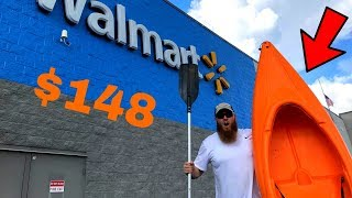 Buying The CHEAPEST Kayak At WALMART (Heres What Happened)
