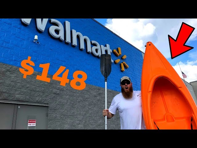 Buying The CHEAPEST Fishing Kayak at WALMART! (Here's What Happened)